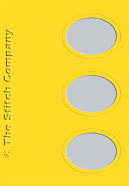 Passe-partout - 3x ovaal - per 3 stuks