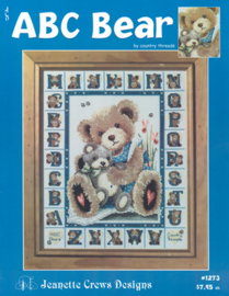 ABC Bear - Jeanette Crews Design