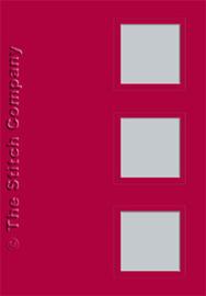 Passe-partouts - 3x vierkant - per 3 stuks