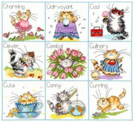 De negen C's van katten