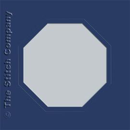 Passe-partout - achthoek - per 3 stuks