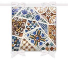 Kussen Mozaiek