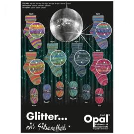 Opal Glitter met Zilvereffect