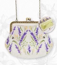 Handtasje Lavendel