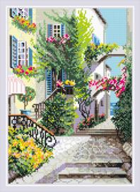 Diamond Mosaic - Italiaanse Binnenplaats