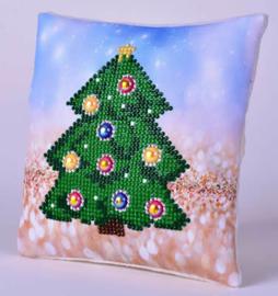 Kerstkussentje Kerstboom