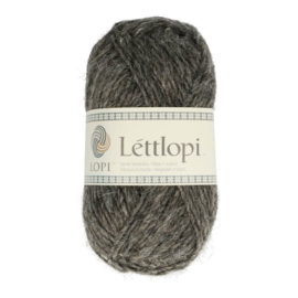 Lettlopi - dark grey heather / dökkgrá heill