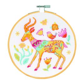 DMC - borduurkit - Antilope
