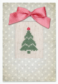 Borduurkaart - Kerstboom