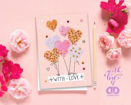 Wenskaart DD - With Love