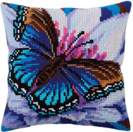 Vlinder in Blauw