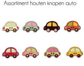 Houten knopen - Auto