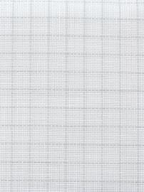 Easycount Aida - 14 count - wit - 50x55 cm