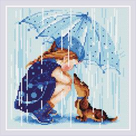 Diamond Mosaic - Onder de Paraplu