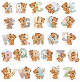 Alfabet met beren