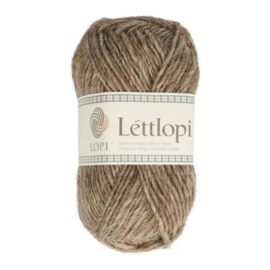 Lettlopi - oatmeal heather / haframjöl heather