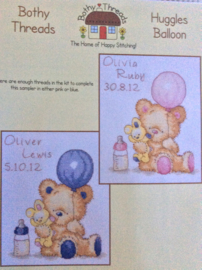 Huggles Balloon - geboorte