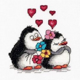 Verliefde Pinguïns