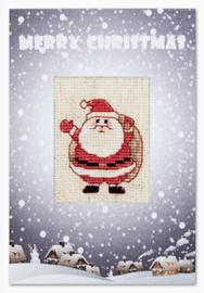 Borduurkaart - Santa 2