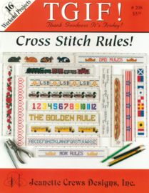 Cross Stitch Rules - Jeanette Crews Design