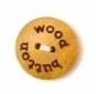 Houten knoop - Wood Button