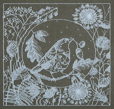 White Lace: Vogel, hert of vos