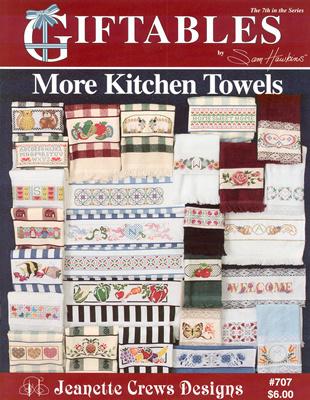 More Kitchen Towels - Jeanette Crews Design