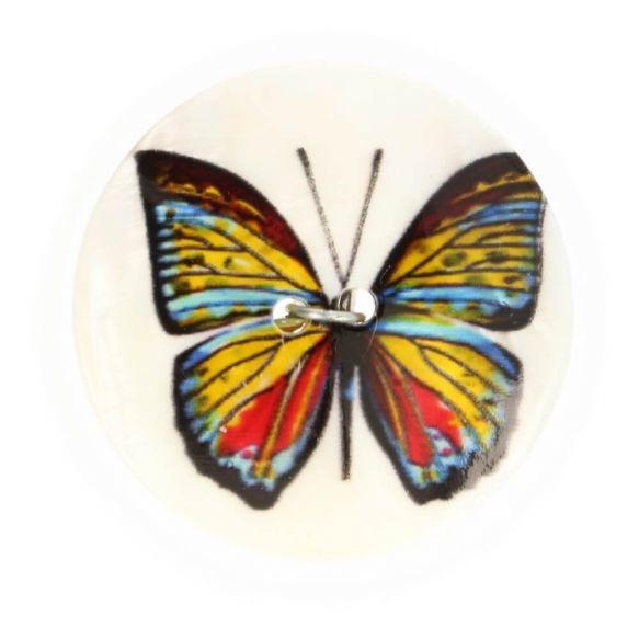 Parelmoerknoop Vlinder