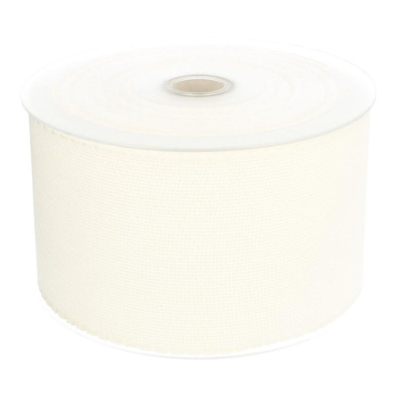 Aidaband 10 cm - antique white