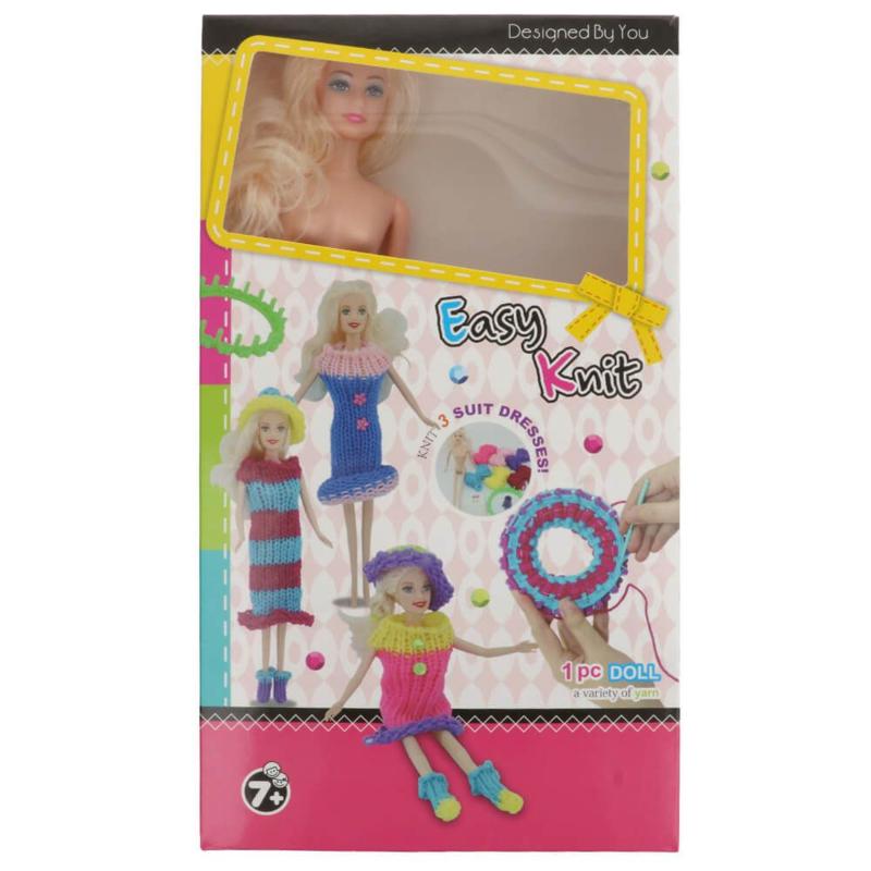 Breipakket voor kinderen met pop