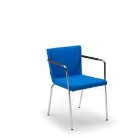 Lande Hopper ST stapelbare stoel met armleuningen