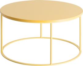 CT2030 Frame lounge tafel rond 80cm, hoogte 42cm