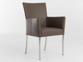Bert Plantagie stoel type AUDREY FLEX in leder Tendens