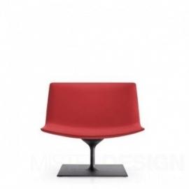 Arper Catifa 80 Loungestoel, rechthoekig onderstel