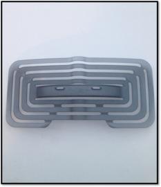 Los lumbaalpad voor Comforto  Zody 89 serie en Comforto 62 Serie