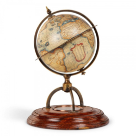 GL019 Terrestial Globe With Compass Authenctic Models