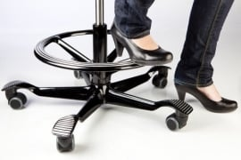 HAG Foot ring voetenring tbv HAG Bureaustoelen