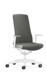Bureaustoel Interstuhl PUREis3 Edition voor thuiswerkplek Quartz Grey