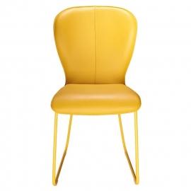 Bert Plantagie stoel type BLAKE zonder arm in leder