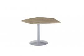 Huislijn BASIC aanbouw P-tafel L/R B1037 afmeting 110cm doorsnede