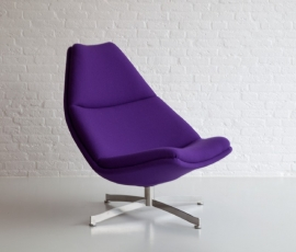 Artifort fauteuil F512 hoge rug
