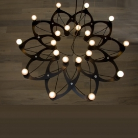 Ornametrica Bloom chandelier kroonluchter 16 lampen