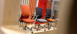 Comforto bureaustoel Dynaflex Haworth 5675 met GESTOFFEERDE FLEXIBELE RUG