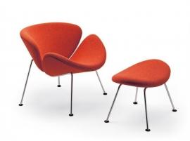 Artifort POEF Orange Slice Chair P437 by Pierre Paulin 1960