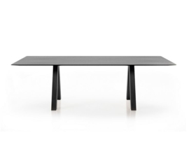 Arper CROSS table | WOOD  | Topdesign van Arper