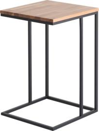 CT4020 Frame lounge tafel vierkant 38x38cm, hoogte 60cm
