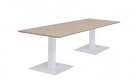 Huislijn Vergadertafel met 2 vierkante voeten KL2104 afmeting 160x80 cm