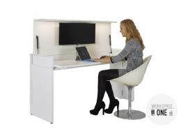 WorkSpaceOne thuiswerkplek hoogte instelbaar