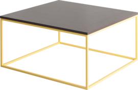 CT5010 Frame lounge tafel vierkant 80x80cm, hoogte 42cm
