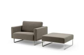 Artifort Mare fauteuil LC 302 met los rugkussen 87cm breed